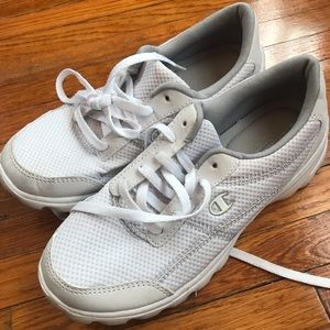 All white Champion Sneakers Nurse shoes
